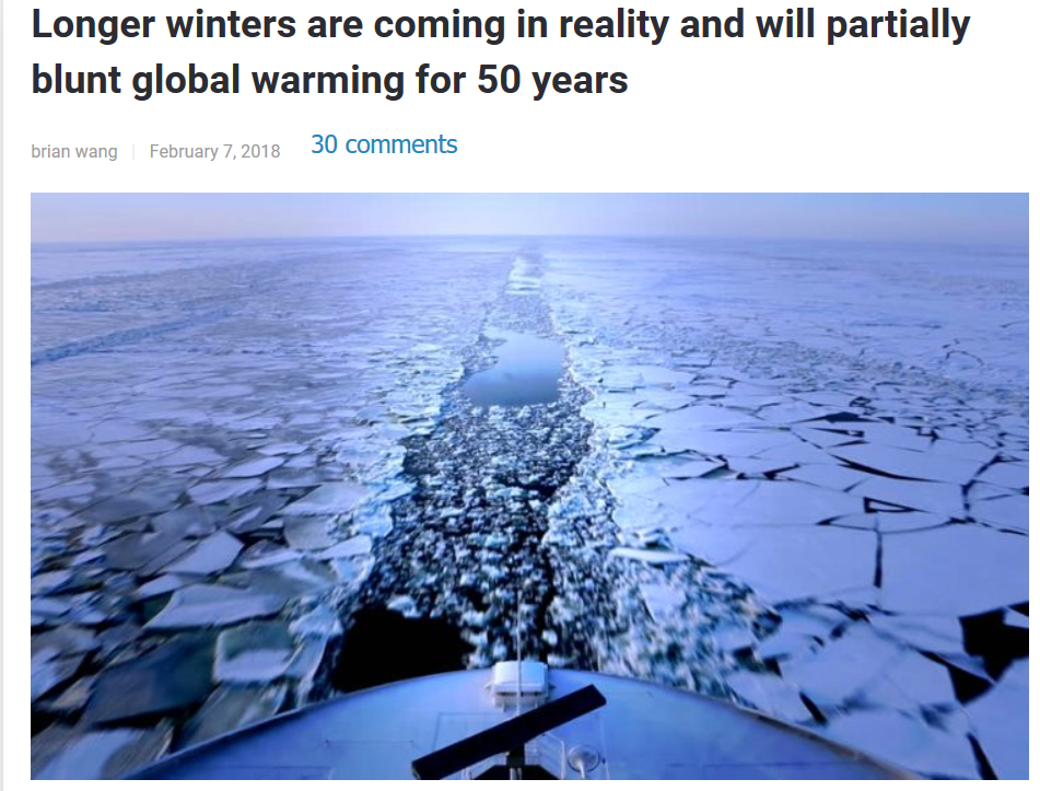 Solar minimum may bring 50 years of global cooling | Climate