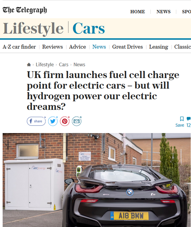 Buy A Hydrogen Fuel Cell To Power Your Electric Car You D Probably Be Better Off With A Diesel Generator Though Not A Lot Of People Know That