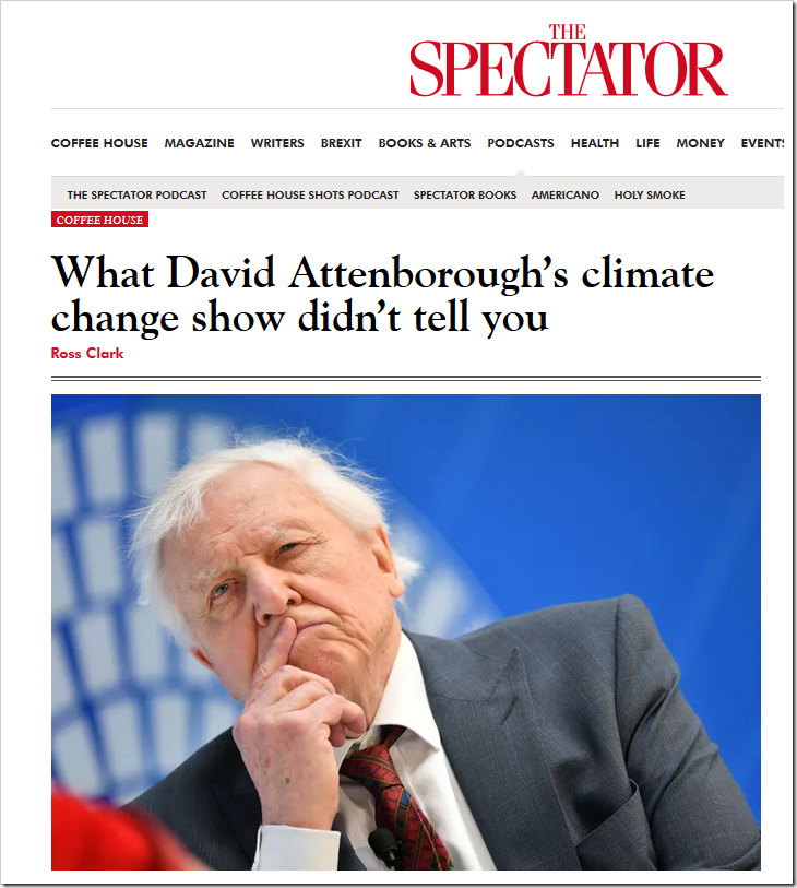 What David Attenborough's climate change show didn't tell you