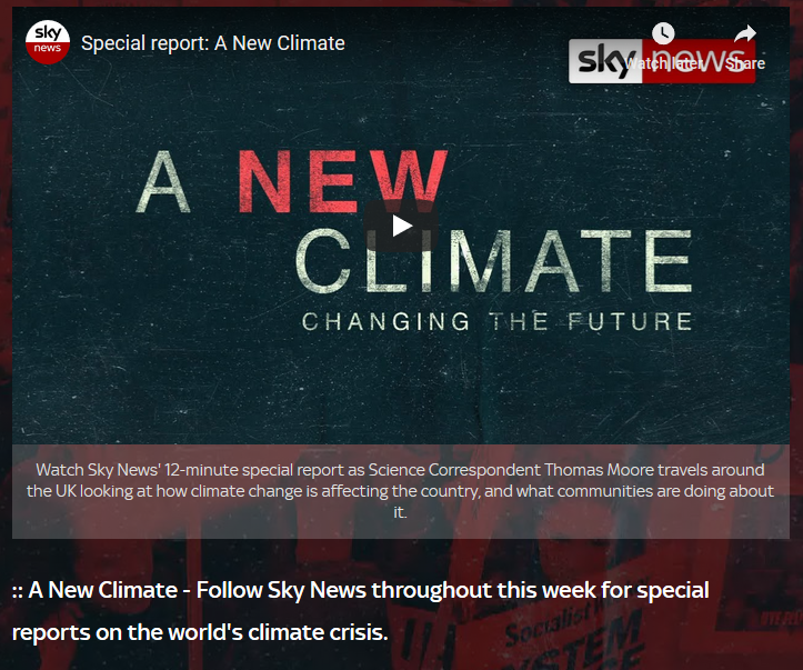 Sky Abandon Facts In Favour Of Climate Propaganda | NOT A