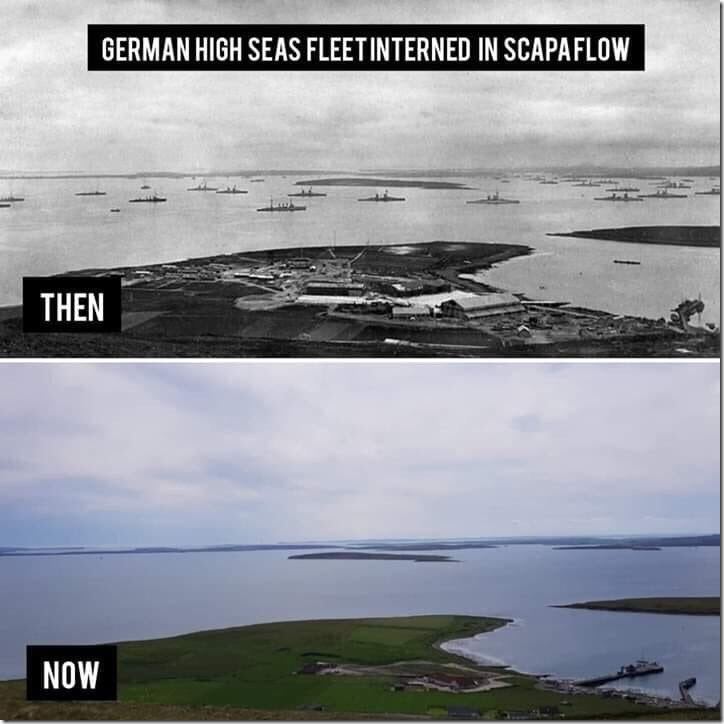 Catastrophic Sea Level Rise At Scapa Flow